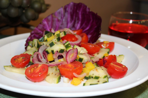 Marinated-Cuccumber-Tomato-Salad